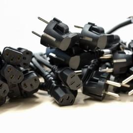 אוסף כבלים של מחשבים